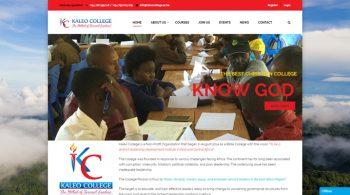 Kaleo College - Fix Kenya Limited Web Design Client