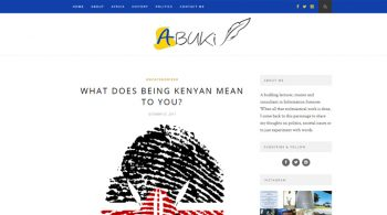 Abuki's World - Web Design Fix Kenya Limited