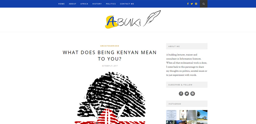 Abuki's World - Web Design Fix Kenya Limited
