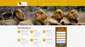African Adventure Specialists - Tours and Travel Web Design Fix Kenya Limited
