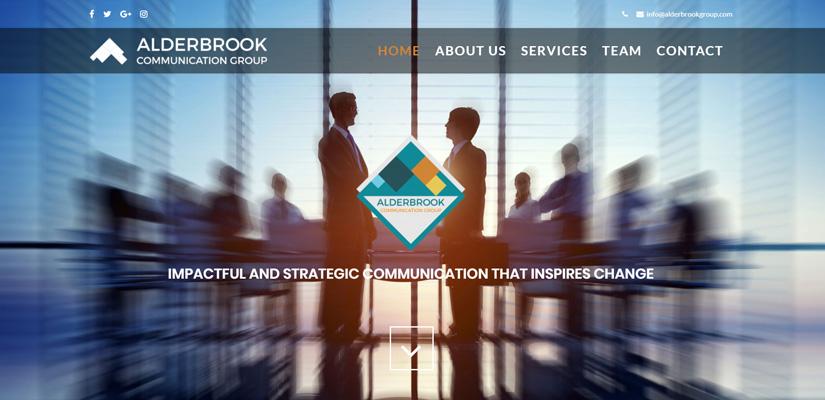 Alderbrook Communications Group - Web Design Fix Kenya Limited