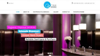 Calix Enterprises - Hygiene Company Web Design Fix Kenya Limited