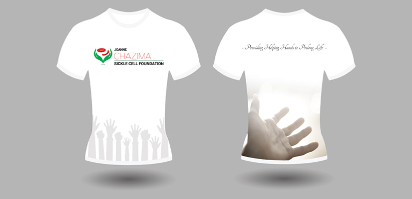 Chazima Sickle Cell Foundation - Tshirt Design Fix Kenya Limited