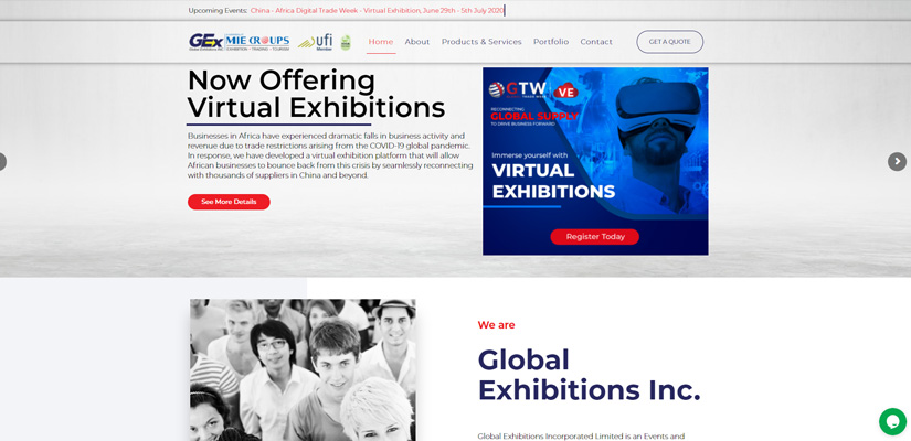 Fix Kenya Limited - Web Design Client in Kenya - Global Exhibitions Inc