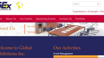 Global Exhibitions - Events Web Design Fix Kenya Limited