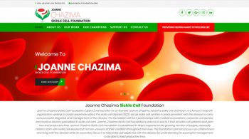Joanne Chazima Sickle Cell Foundation - Foundation Web Design Fix Kenya Limited