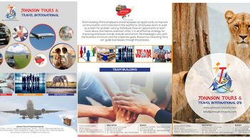 Johnson Tours and Travel - Brochure Design Fix Kenya Limited