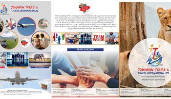 Johnson Tours and Travel - Brochure Design Fix Kenya Limited