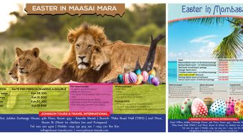 Johnson Tours and Travel - Poster Design Fix Kenya Limited