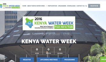 Kenya Water Week - Water Week Web Design Fix Kenya Limited