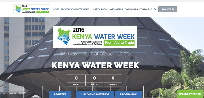 Kenya Water Week - Water Week Web Design Fix Kenya Limited