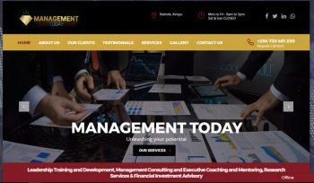 Management Today - Corporate Web design Fix Kenya Limited