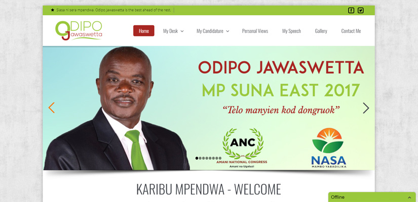 Odipo Jawaswetta - Web Design by Fix Kenya Limited