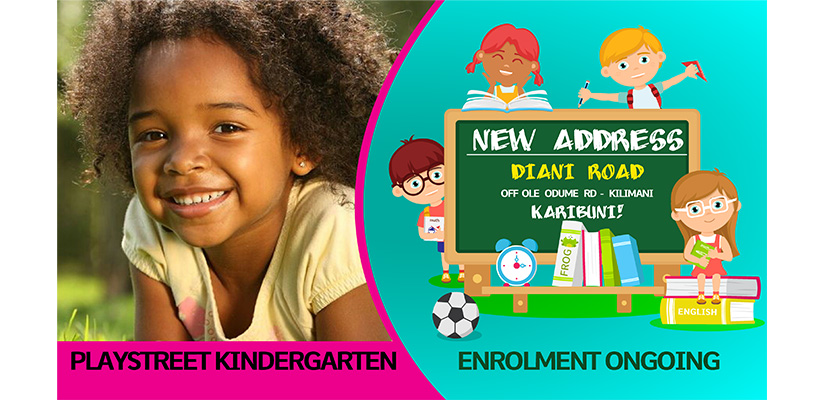 Playstreet Kindergarten - Graphic Design Fix Kenya Limited