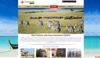 Real Adventure Safaris - Tours and Travel Web Design Fix Kenya Limited