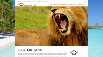 Tour Plan Limited - Tours and Travel Web Design Fix Kenya Limited