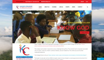 Kaleo College - Fix Kenya Limited Web Design Client