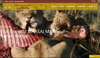 Tusmo Tours and Travel - Fix Kenya Limited Web Design Client