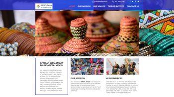 Fix Kenya Limited Clients Website Design - AWAF KENYA