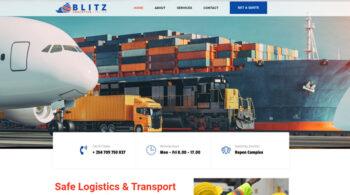 Blitz Logistics Limited - Fix Kenya Limited Web Design Clients in Kenya