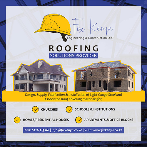 Fix Kenya Engineering and Construction - Fix Kenya Limited Graphic Design Clients Services Marketing in Kenya