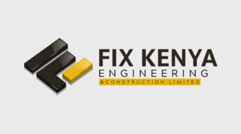 Fix Kenya Engineering and Construction - Fix Kenya Limited Logo Graphic Design Clients in Kenya