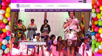 Gospel Blooms International - Fix Kenya Limited Web Design Clients in Kenya