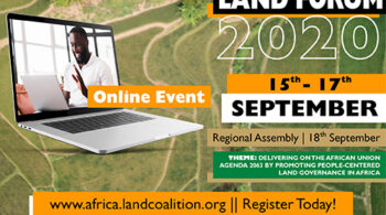 International Land Coalition - Fix Kenya Limited Graphic Design Clients Event Marketing in Kenya