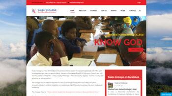 Kaleo College - Fix Kenya Limited Web Design Clients in Kenya
