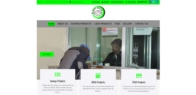 Reli Sacco - Fix Kenya Limited Web Design Clients in Kenya
